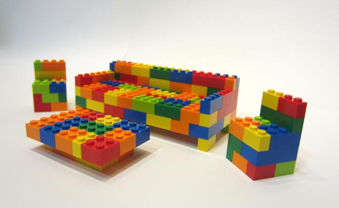 lego\'s furniture - Ana Jimenez