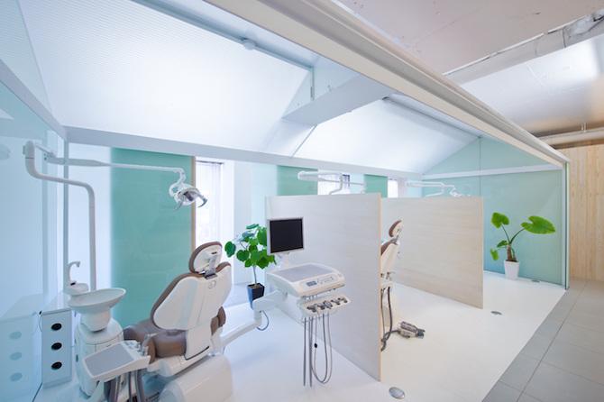 tato architects dental clinic in nakayamate thisispaper magazine