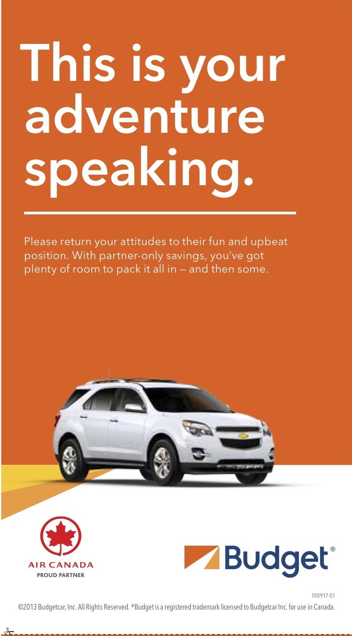 Budget Car Rental - Dan Mingle | Copywriter