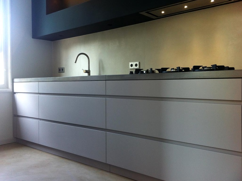 Sarphatipark amsterdam keuken hg meubelmakers for Meubelmaker amsterdam