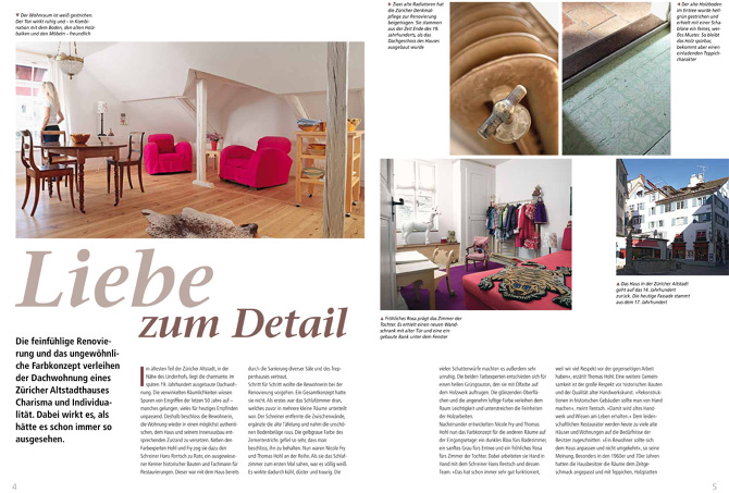 farbe raum das kundenmagazin der deutschen malerzeitschrift mappe oktober 2013 hohl und. Black Bedroom Furniture Sets. Home Design Ideas